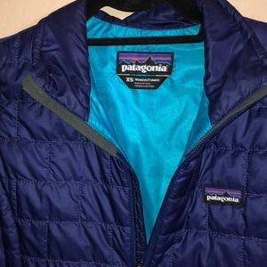 Patagonia Jackets & Coats - Patagonia - women's nano puff jacket - blue EUC